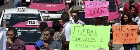 Uber Mexico / Uber Mexiko